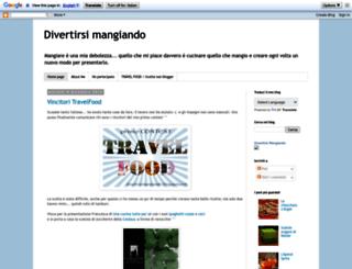 divertirsimangiando.blogspot.mx screenshot