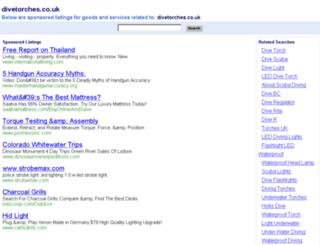divetorches.co.uk screenshot