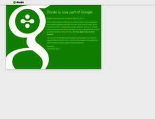 divide.com screenshot