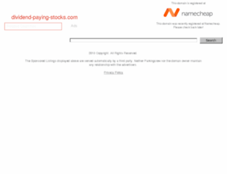 dividend-paying-stocks.com screenshot