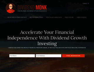 dividendmonk.com screenshot