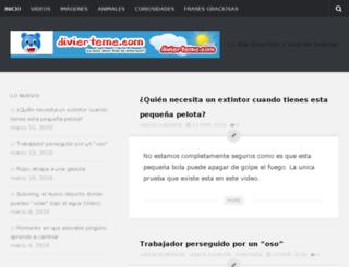 divierteme.com screenshot