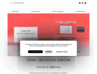 divine.fr screenshot