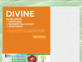 divinedevelopers.co.in screenshot