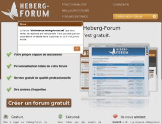 divinekanza.heberg-forum.net screenshot