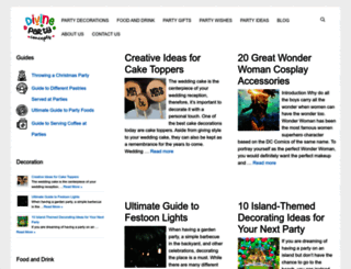 divinepartyconcepts.com screenshot
