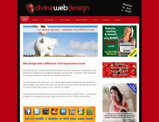 divinewebdesign.com.au screenshot