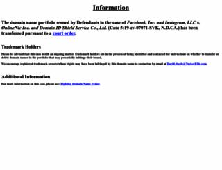 divingfinder.com screenshot