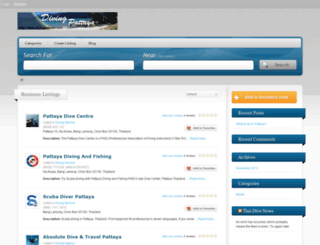 divingpattaya.com screenshot