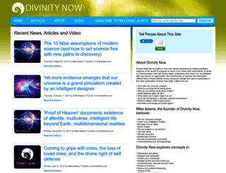 divinitynow.com screenshot