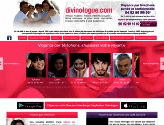 divinologue.com screenshot