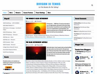 division3tennis.com screenshot