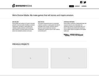 divisivemedia.com screenshot