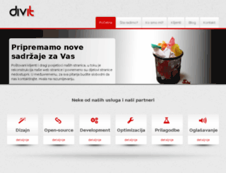 divit.ba screenshot