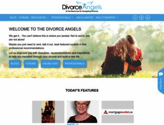divorceangels.ca screenshot