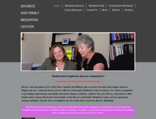 divorcefamilymediation.com screenshot
