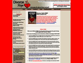 divorcehope.com screenshot