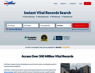 divorcerecords.org screenshot