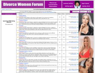 divorcewomenforum.com screenshot
