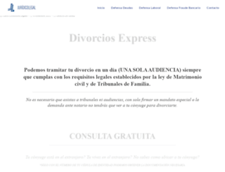 divorcio-express.com screenshot