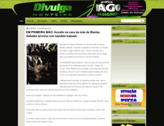 divulgamonteiro.blogspot.com.br screenshot