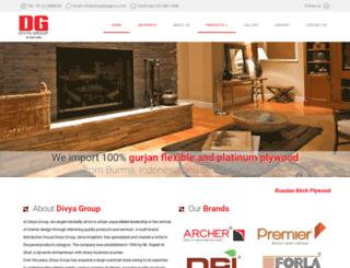 divyaplyagency.com screenshot