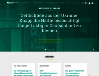 diw.de screenshot