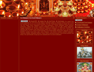 diwali-wallpaper.com screenshot