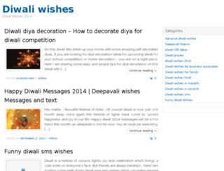 diwali-wishes.com screenshot