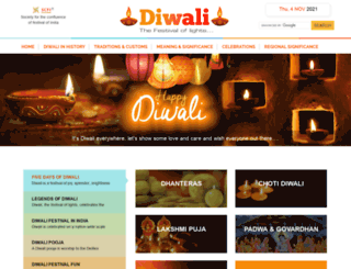 diwalifestival.org screenshot