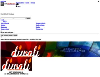 diwaligifts.rediff.com screenshot