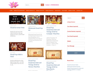 diwalipujan.com screenshot