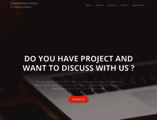 diwanproductions.com screenshot