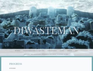 diwasteman.wordpress.com screenshot