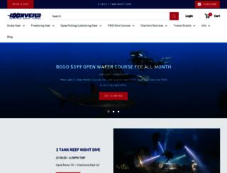 dixiediver.com screenshot