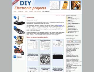 diy-electronic-projects.com screenshot