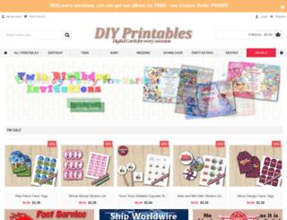 diy-printables.com screenshot