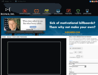 diy.despair.com screenshot