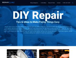diy.repairclinic.com screenshot