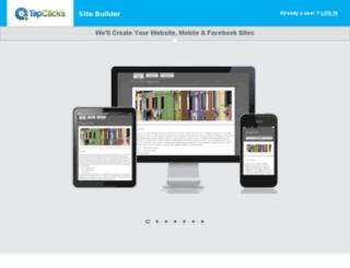 diy.tapclickssitebuilder.com screenshot
