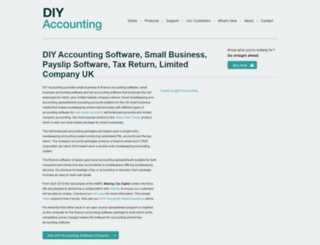 diyaccounting.co.uk screenshot