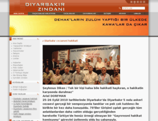 diyarbakirzindani.com screenshot