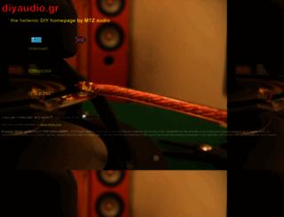 diyaudio.gr screenshot
