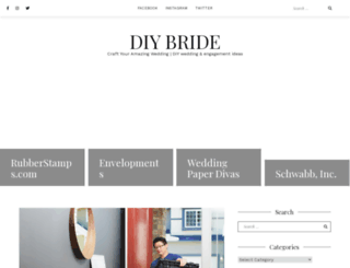 diybride.com screenshot