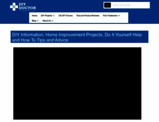 diydoctor.org.uk screenshot