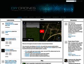 diydrones.com screenshot