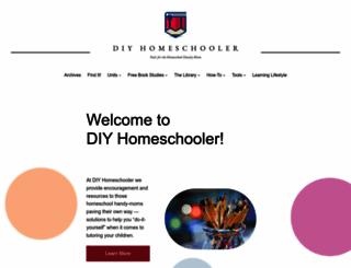 diyhomeschooler.com screenshot