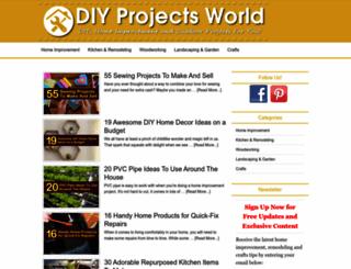 diyprojectsworld.com screenshot