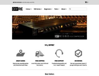diyrecordingequipment.com screenshot
