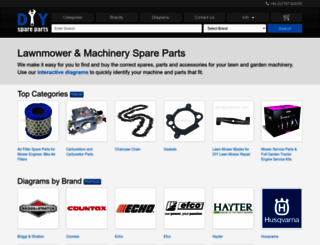 diyspareparts.com screenshot